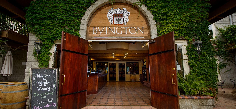 byington vineyard winery weddings corporate events wineries in